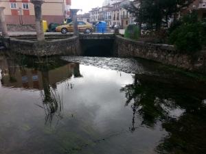encauzamiento soterrado río Arandilla
