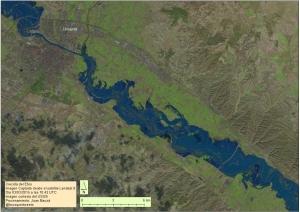 Imagen captada por el satélite Landsat8 procesada por Joan Bauzá
